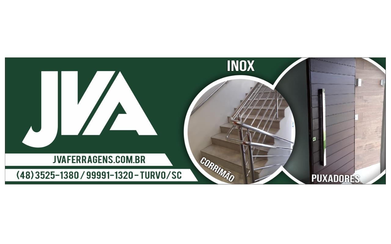 faixa - JVA Ferragens e Puxadores - Turvo/SC
